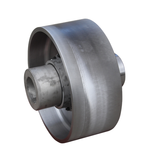 NGCL crown gear coupling with brake drum