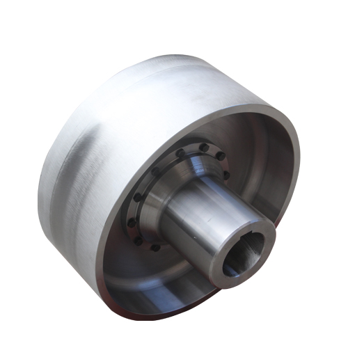 NGCLZ crown gear coupling with brake drum